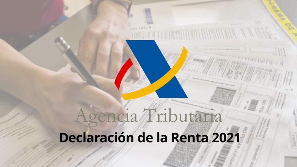 declaración de la renta 2021