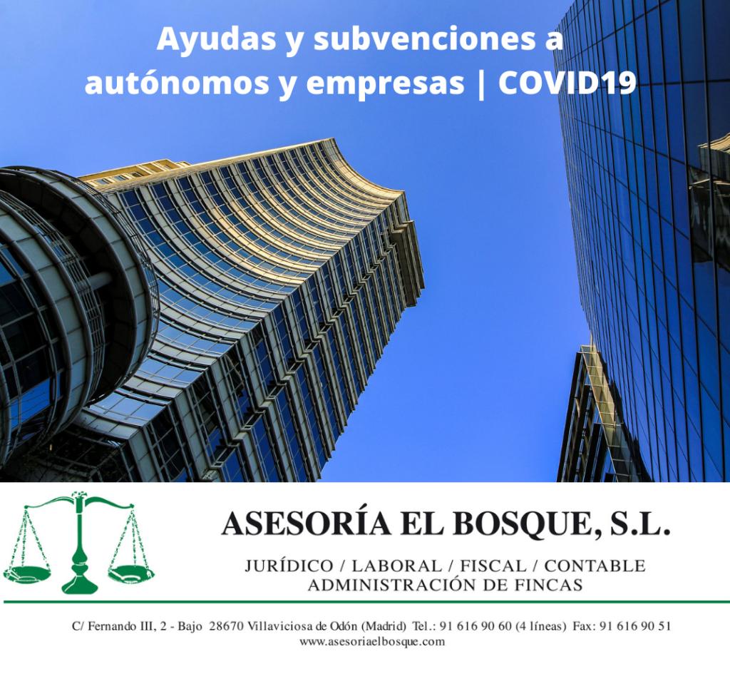 ayudas y subvenciones autónomos y empresas
